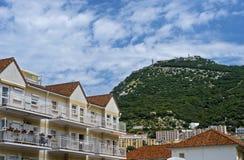Inner city of Gibraltar Royalty Free Stock Photos