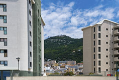 Inner city of Gibraltar Stock Images