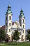 Inner City Parish Church in Budapest Royalty Free Stock Photos