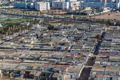 Inner-city slum in Casablanca Royalty Free Stock Photo