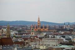 Inner city of vienna Stock Photo