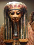 Inner Coffin of Menkheperre (C) at Metropolitan Museum of Art. Royalty Free Stock Images