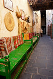 Inner corridors of Souk Wakif in Doha Qatar stock photos
