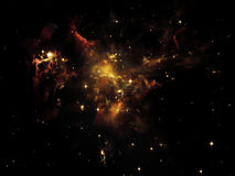 Inner Cosmos Royalty Free Stock Image