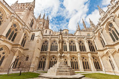 Inner court of the cathedral in Burgos, Spain Stock Photo