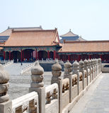 Inner Court, Forbidden City Royalty Free Stock Images
