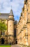 Inner court of Glasgow University. Scotland Royalty Free Stock Photos