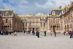 The inner court of Palace of Versailles Royalty Free Stock Photography