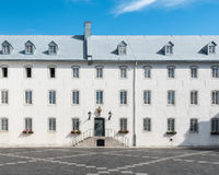 Inner Court of the Seminary of Quebec. In Quebec City, Quebec, Canada Stock Photo