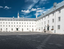 Inner Court of the Seminary of Quebec Royalty Free Stock Images
