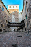 Inner court of Turku castle Royalty Free Stock Image
