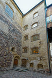 Inner court of Turku castle Royalty Free Stock Photography