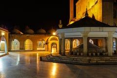 Inner courtyard amd sadivan fountain f Stock Photography