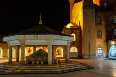 Inner courtyard amd sadivan fountain f Stock Images
