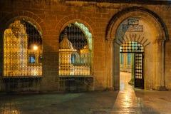 Inner courtyard amd sadivan fountain f Stock Image