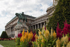 Inner courtyard of the Buda Castle. Budapest, Hungary Stock Photography