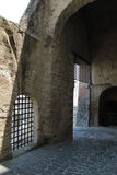 Inner courtyard of the Castel Sant'Elmo, Naples Italy Royalty Free Stock Image