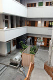 The inner courtyard at Mother House, residence of Mother Teresa in Kolkata Royalty Free Stock Photography