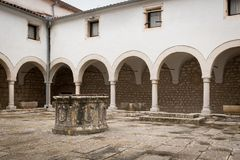 Free Inner Courtyard Of Church Sveti Kriz In Cres Stock Photography - 116667282