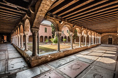 Free Inner Courtyard Of The Church Of San Francesco Della Vigna In Venice Stock Images - 78267124