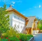 Inner courtyard of Romanov Boyar Palace Royalty Free Stock Image