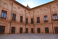 Inner courtyard of Royal Monastery El Puig, Spain Royalty Free Stock Image