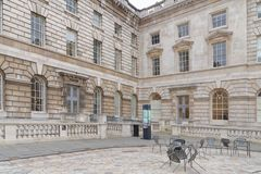Inner courtyard of somerset house Stock Photography