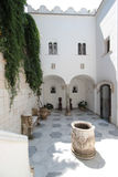 Inner courtyard of the Villa San Michele Stock Photography