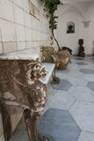 Inner courtyard of the Villa San Michele Royalty Free Stock Photography
