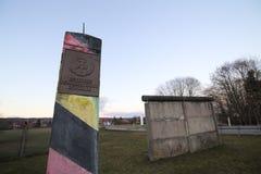 Inner-deutsche Grenze Stockbild
