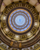 Inner dome of Colorado State Capitol Stock Images
