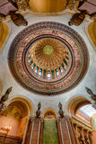 Inner dome Illinois Capitol Royalty Free Stock Image