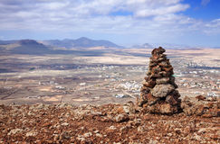 Inner Fuerteventura, Canary Islands Royalty Free Stock Images