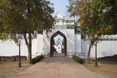 Inner gate of the Royal Palace Phra Narai Ratchanivet in Lopburi Royalty Free Stock Image