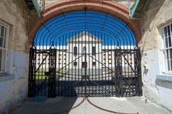 Inner Gates Fremantle Prison, Western Australia Royalty Free Stock Images