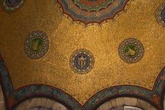 Inner golden decor Royalty Free Stock Images