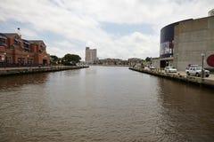 Inner Harbor of Baltimore. Royalty Free Stock Photos