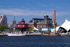 Inner Harbor - Baltimore, Maryland Royalty Free Stock Photos
