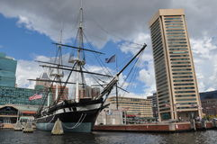 Inner Harbor in Baltimore, Maryland Royalty Free Stock Images
