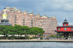 Inner Harbor in Baltimore, Maryland royalty free stock photography