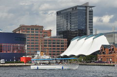 Inner Harbor in Baltimore, Maryland Royalty Free Stock Photo