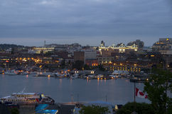 Inner harbor of Victoria BC Stock Images