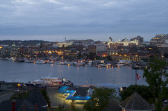 Inner harbor of Victoria BC Stock Image
