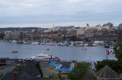 Inner harbor of Victoria BC Royalty Free Stock Photos