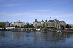Inner harbor of Victoria BC Royalty Free Stock Images