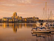 Inner Harbor of Victoria, British Columbia, Vancouver Island, Ca Royalty Free Stock Images