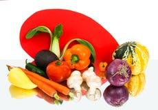 Inner-intelligentes Gemüse Stockbild
