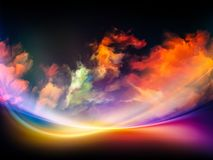Inner Life of Colors Royalty Free Stock Photos