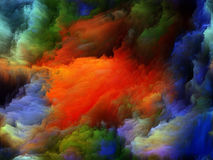 Inner Life of Colors Stock Photography