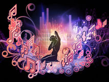 Inner Life of Music Royalty Free Stock Images
